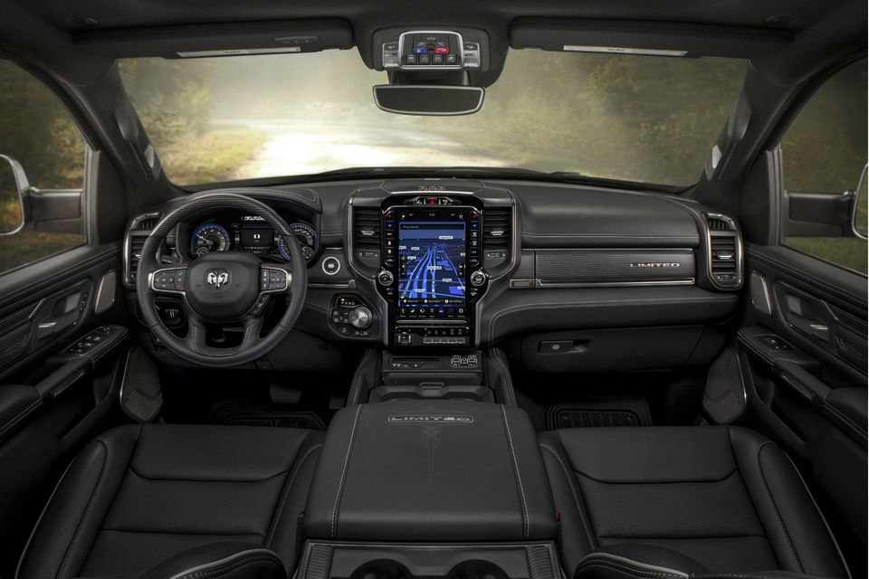 2019 RAM 1500 Limited Interieur 2