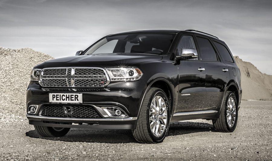 Peicher US-Cars Dodge Durango Citadel schwarz vorne