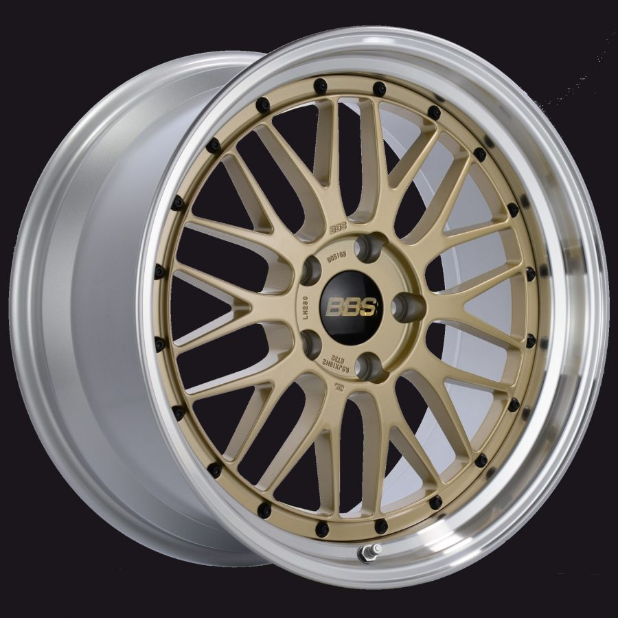 BBS Forged Line LM Gold