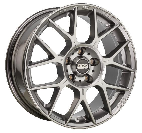 BBS Design Line XR Platinum Silber